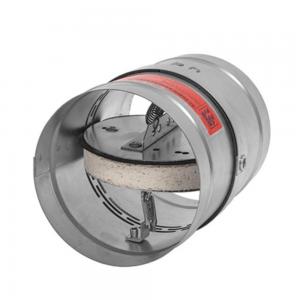 Enkeltblads lavmodstands cut-off brandspjæld til komfortventilation: Model FID PRO - Produktbillede 2