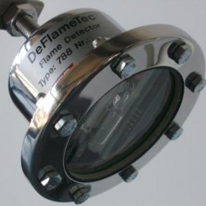Flammedetektor: Model Deflametec - Produktbillede 1