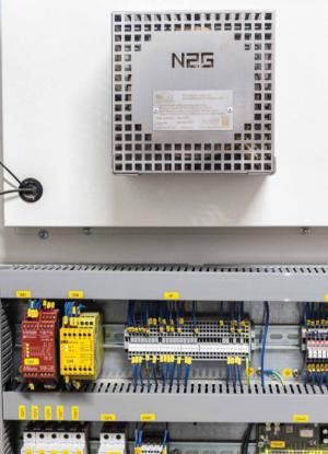 Nitrogen generator, type 1.5: Installationseksempel 2