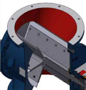 Rotorsluse, Type HT-350: Profil - Safevent