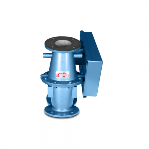 Conveying diverter valve for re-routing and bypass of hazardous materials: Product Image 3 - Explosion containment Safevent