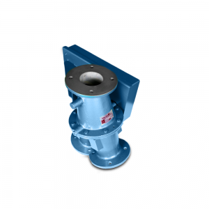 Conveying diverter valve for re-routing and bypass of hazardous materials: Product Image 4 - Explosion containment Safevent