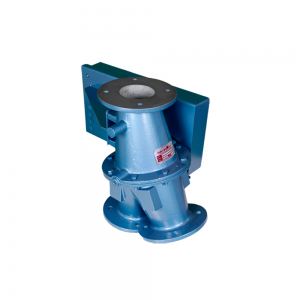 Conveying diverter valve for re-routing and bypass of hazardous materials: Product Image 5 - Explosion containment Safevent