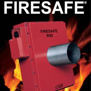 Brandspjæld til materialetransport: Model FIRESAFE R90 - Produktbillede2