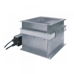Single-blade cut-off fire damper for multi-zone ventilation image 1