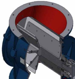 Rotary valve, Type HT-450: Profile - Safevent