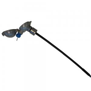 Temperature monitoring system, model Unitest: Product image 2 - Open hood - Safevent