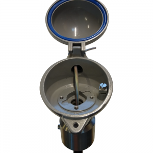 Temperature monitoring system, model Unitest: Product image 3 - Open hood (Close-up) - Safevent