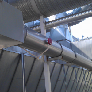 Spark Detectors(SDN): Mounted to ventilation - Outside