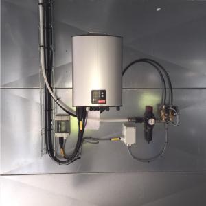 Kontrolenhed, DC1: Monteret med lufttryksrensning
