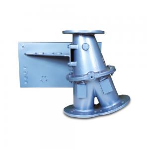 3-Vejs ventil til omdirigering og bypass af eksplosionsfarligt materiale: Produktbillede 2 - Safevent