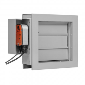 Multiblads transfer brandspjæld til generel ventilation: Produktbillede