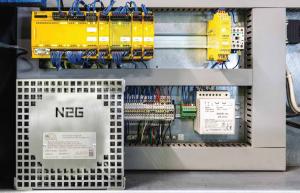 Nitrogen generator, type 0.5: Installationseksempel 2
