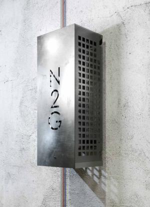 Nitrogen generator, type 10.5: Installationseksempel 1