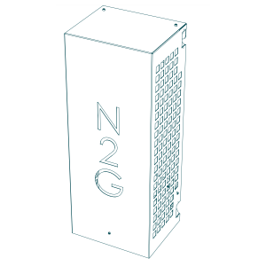 Nitrogen generator, type 2.5: Produkttegning 1