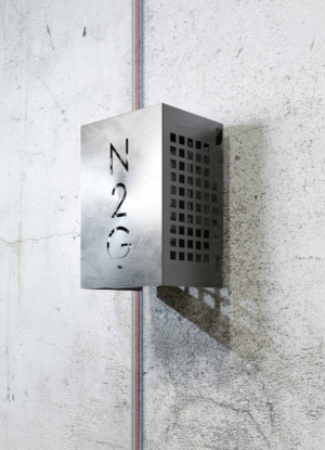 Nitrogen generator, type 5.0: Installationseksempel 1