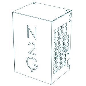 Nitrogen generator, type 5.0: Produkttegning 1