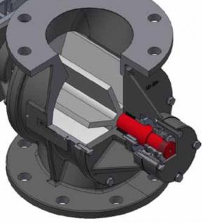 Rotorsluse (doserende), Type MD-200: Profil - Safevent